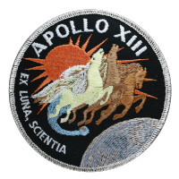 NASA Apollo 13 Embroidered Mission Patch 4""